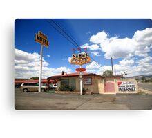 Route 66 - Sands Motel Metal Print