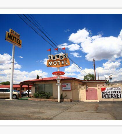 Route 66 - Sands Motel Sticker