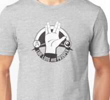 LLAP Live Long and Prosper Vulcan Star Trek Salute Unisex T-Shirt