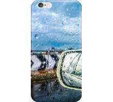 Indian Monsoon Rear view iPhone Case/Skin