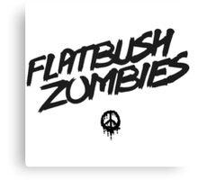 Flatbush Zombies - Dead Peace Canvas Print