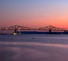 Tappan Zee Bridge by Eunice Gibb