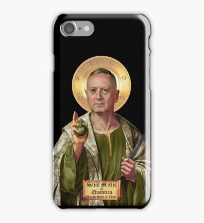Saint Mattis of Quantico iPhone Case/Skin