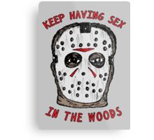 Keep Having Sex Metal Print