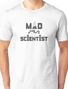 Mad Scientist Electric Science Beaker Unisex T-Shirt