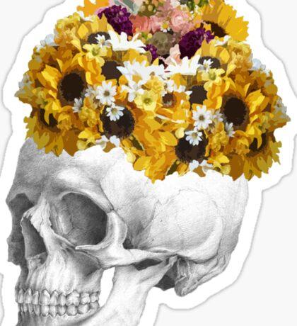 Skeletal Bouquet Sticker