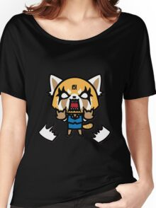 Aggretsuko (V1) Women's Relaxed Fit T-Shirt