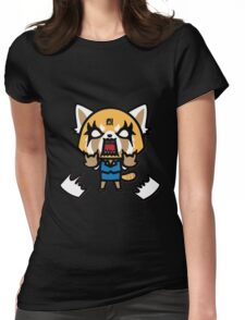 Aggretsuko (V1) Womens Fitted T-Shirt