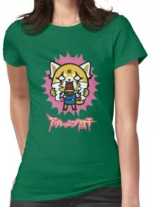 Aggretsuko (V2) Womens Fitted T-Shirt