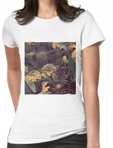 Flowers R1 Womens Fitted T-Shirt
