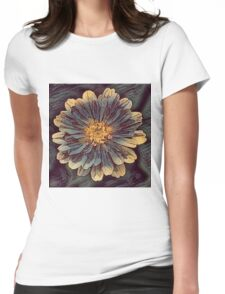 Flower R1 Womens Fitted T-Shirt