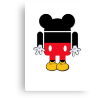 Android Mickey Canvas Print