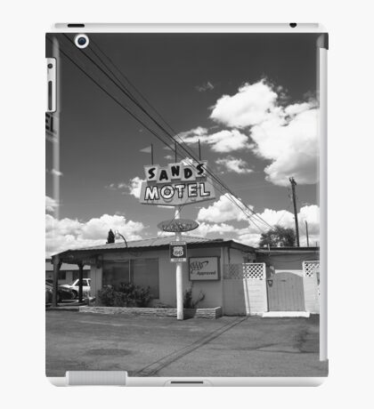 Route 66 - Sands Motel iPad Case/Skin
