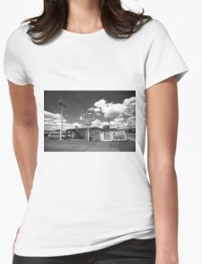Route 66 - Sands Motel Womens Fitted T-Shirt