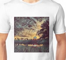 Low Poly Landscape C1 Unisex T-Shirt