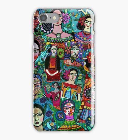 frida kahlo feminism feminist art  iPhone Case/Skin