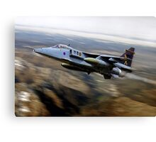 Royal Air Force Jaguar 16Sqn. Canvas Print
