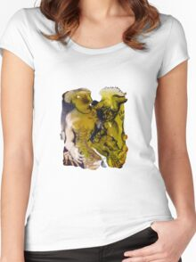 Interpretation #17 - Dissected life Women's Fitted Scoop T-Shirt