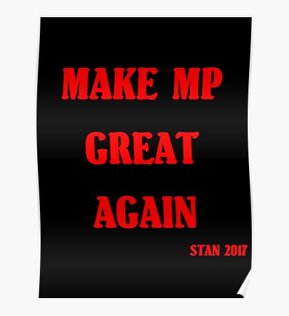 Make MP Great Again Rouge Poster