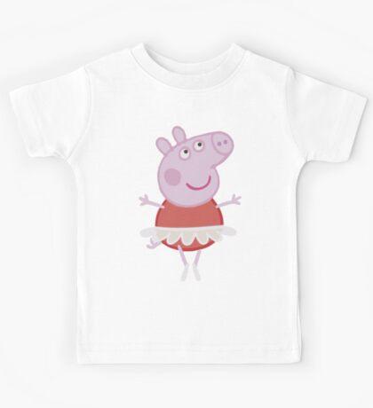 Peppa Pig - Ballerina Kids Tee