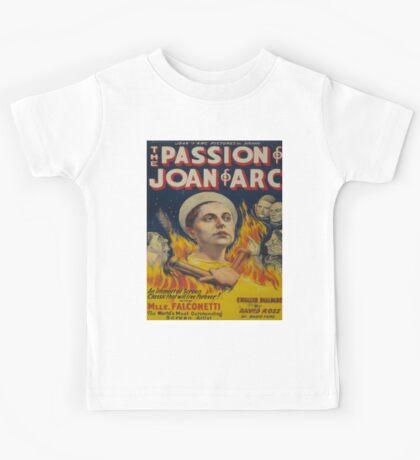 Vintage poster - Joan of Arc Kids Tee