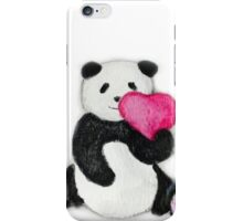 Panda Bear loves you iPhone Case/Skin