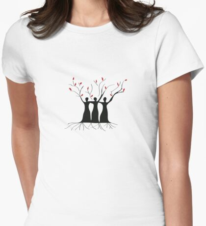 Empowering Women Womens Fitted T-Shirt
