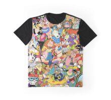 Childhood Cartoons Graphic T-Shirt