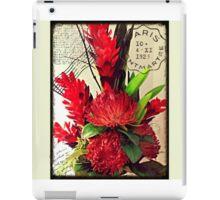 Bon Voyage Bouquet iPad Case/Skin