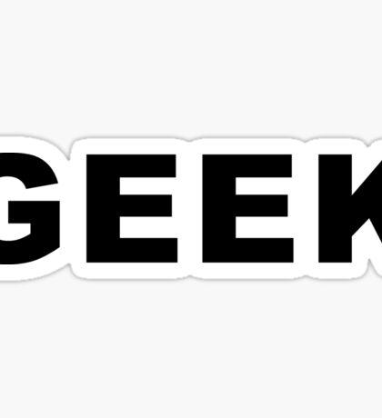 GEEK Sticker