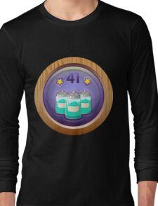 Glitch Achievement senior admixificator Long Sleeve T-Shirt
