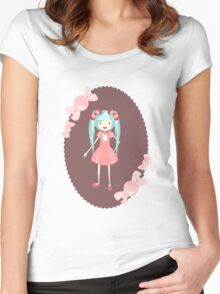 miku Women's Fitted Scoop T-Shirt
