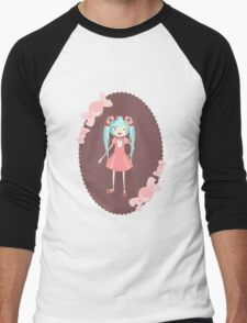miku Men's Baseball ¾ T-Shirt