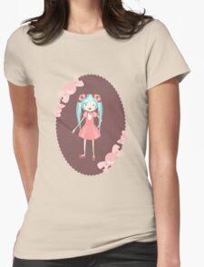 miku Womens Fitted T-Shirt