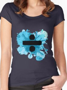"Ed Sheeran Paint "" ÷ "" Women's Fitted Scoop T-Shirt"