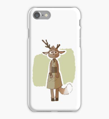 Deer anthro character iPhone Case/Skin