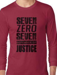 SEVEN, Defender of Justice Mystic Messenger Collection Long Sleeve T-Shirt
