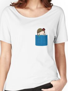 Eleventh Doctor in my Pocket Women's Relaxed Fit T-Shirt