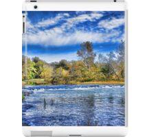 Spring River Rapids iPad Case/Skin
