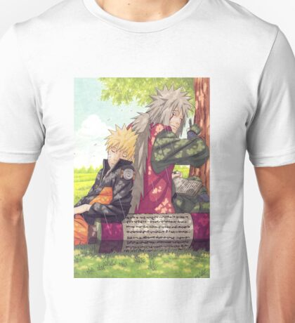 Naruto and Jiraya ( Sensei and Student )  Unisex T-Shirt