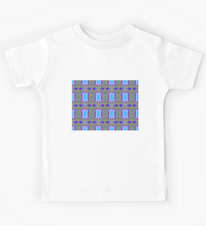 royal pattern Kids Tee