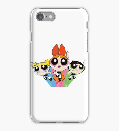 the powerpuff girls supernenas iPhone Case/Skin