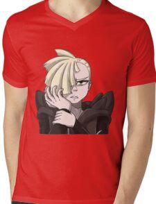 Video Game Headshot | Gladion Mens V-Neck T-Shirt