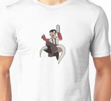 RED Medic with saw Unisex T-Shirt