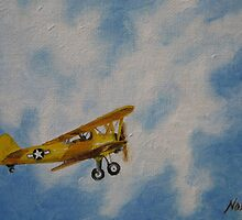 Yellow Airplane by Noewi