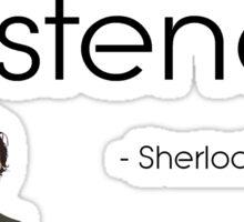 Stop talking! Sticker