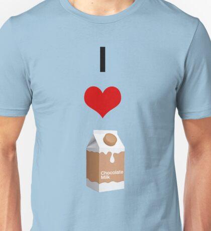 I Love Choccy Milk - Graphic design Unisex T-Shirt