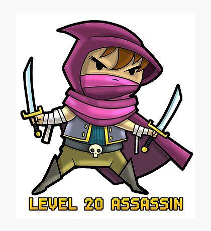 Level 20 Assassin Photographic Print