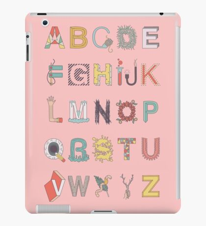 The Alphabet iPad Case/Skin