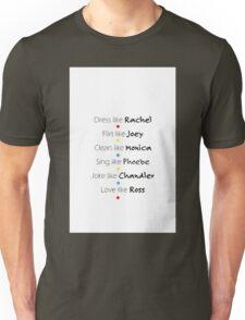 Friends Graphic Unisex T-Shirt